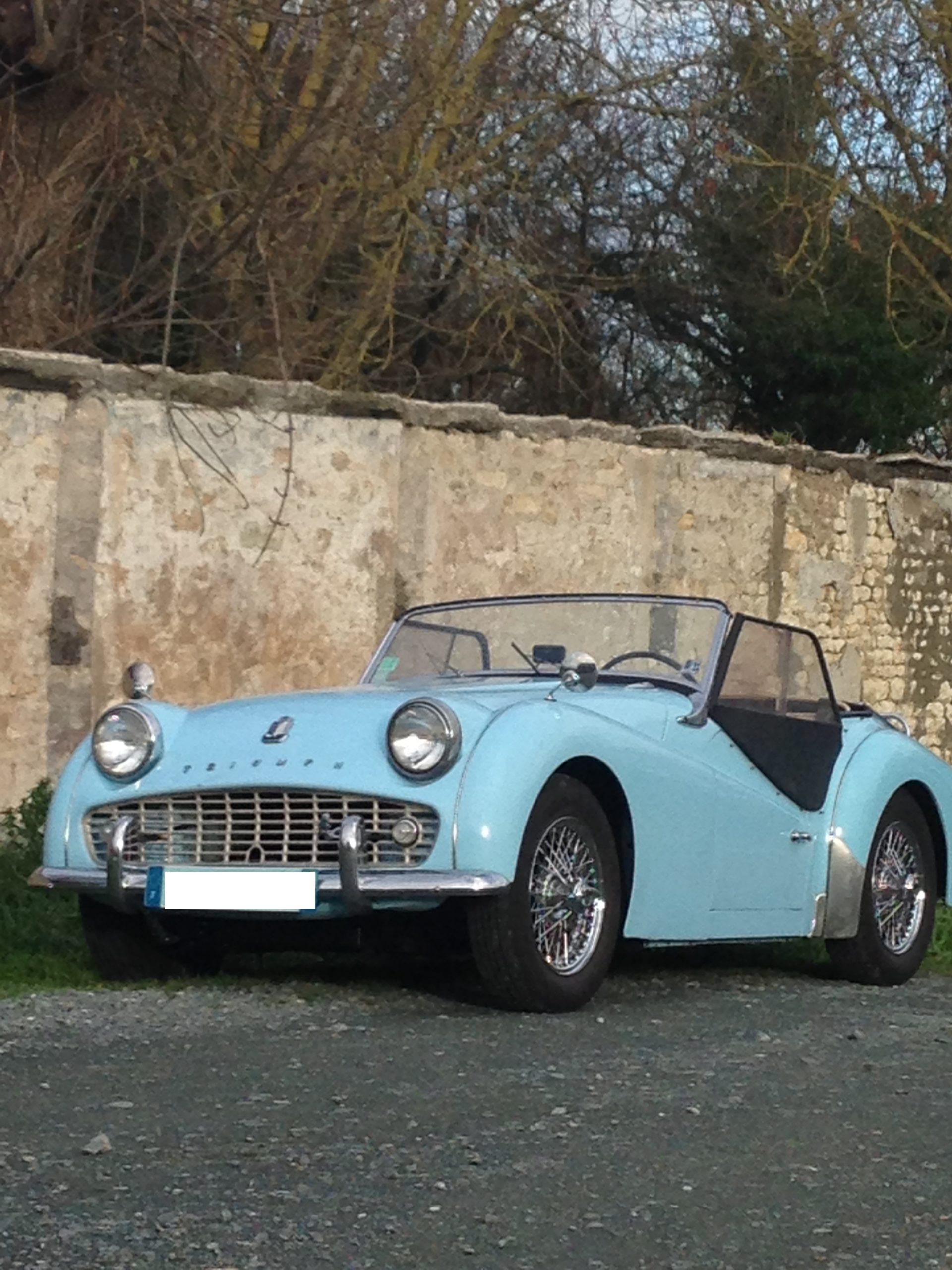 TR3 de 1958 dans le Calvados