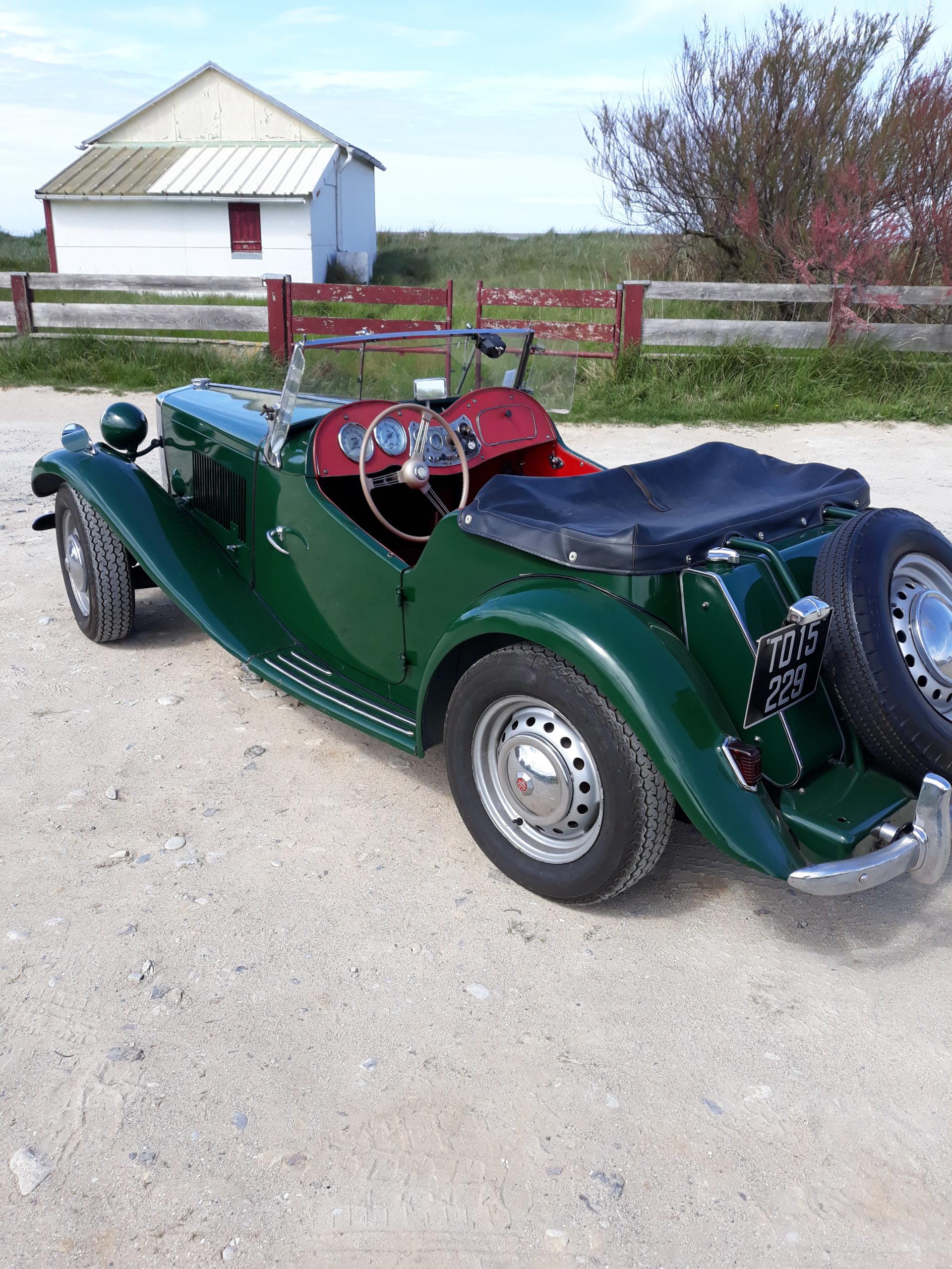 MG TD à vendre de 1952 dans le Calvados