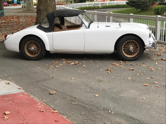 MG A de 1958